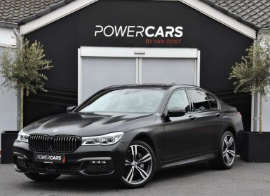 Achat BMW Série 7 740 D | XDRIVE | BLACK FIRE EDITION | FULL | BTW Occasion