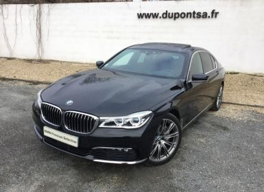 Achat BMW Série 7 740dA xDrive 320ch Exclusive Occasion