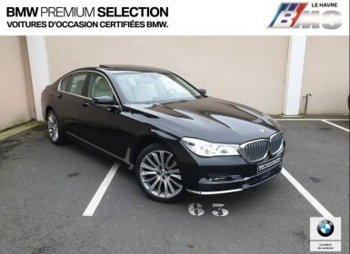Voiture BMW Série 7 740dA xDrive 320ch Exclusive Occasion