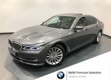 Vente BMW Série 7 740dA xDrive 320ch Exclusive Occasion