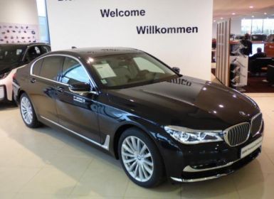 Vente BMW Série 7 750dA xDrive 400ch Exclusive Euro6c Occasion