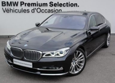 Vente BMW Série 7 750LiA xDrive 450ch Exclusive Occasion