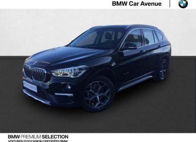 Vente BMW X1 sDrive16d 116ch xLine Occasion