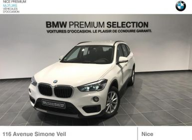 Vente BMW X1 sDrive18d 150ch Lounge Occasion