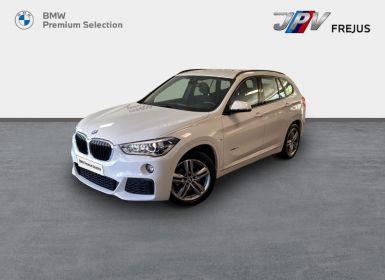 BMW X1 sDrive18d 150ch M Sport