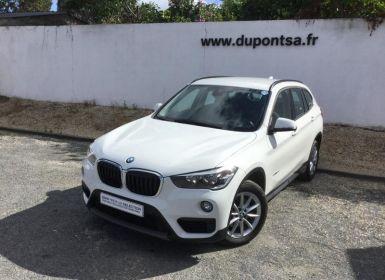 BMW X1 sDrive18dA 150ch Business Occasion
