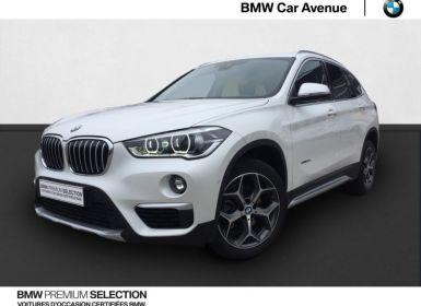 Vente BMW X1 sDrive18dA 150ch xLine Occasion
