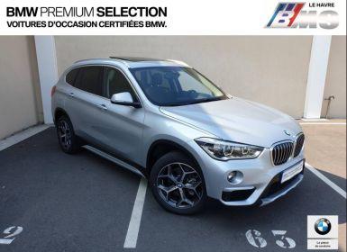 Voiture BMW X1 sDrive18dA 150ch xLine Euro6d-T Occasion