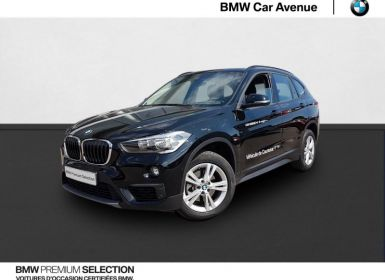 Vente BMW X1 sDrive18iA 140ch Lounge DKG7 Euro6d-T Occasion