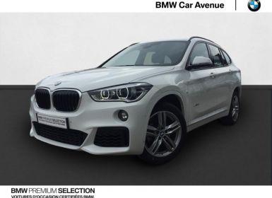 BMW X1 sDrive18iA 140ch M Sport DKG7 Euro6c