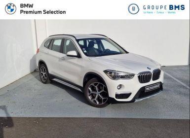 Vente BMW X1 sDrive18iA 140ch xLine DKG7 Occasion