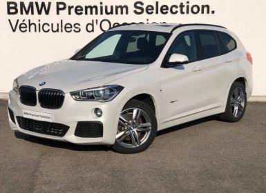 Achat BMW X1 xDrive20dA 190ch M Sport Occasion