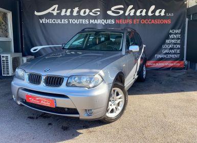 Vente BMW X3 (E83) 2.0D 150CH CONFORT Occasion
