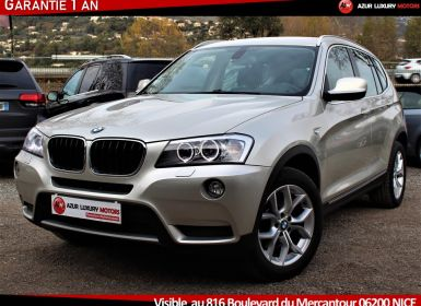 Vente BMW X3 EXCLUSIVE 20D X DRIVE 184 Occasion