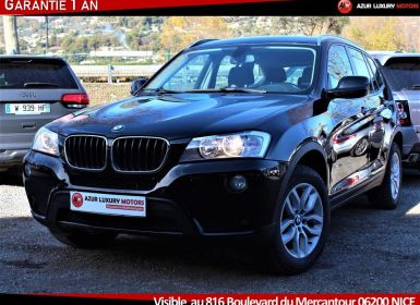 Achat BMW X3 F25 LUXE 18 D S DRIVE BVM6 Occasion