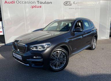 Achat BMW X3 G01 xDrive30d 265ch BVA8 Luxury Occasion