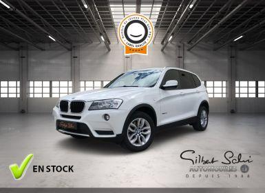 Vente BMW X3 II (F25) xDrive20dA 184ch Excellis Occasion