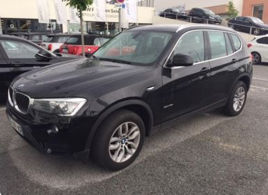 Vente BMW X3 sDrive18d 150 ch Lounge Plus Occasion