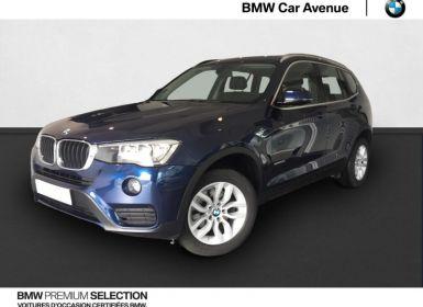 Vente BMW X3 sDrive18d 150ch Lounge Occasion