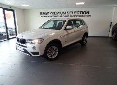 Voiture BMW X3 sDrive18d 150ch Lounge Plus Occasion