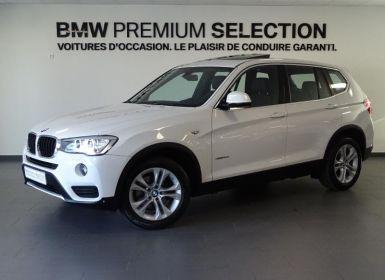 Vente BMW X3 sDrive18d 150ch Lounge Plus Occasion