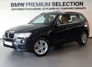 Vente BMW X3 sDrive18d 150ch Lounge Plus Start Edition Occasion
