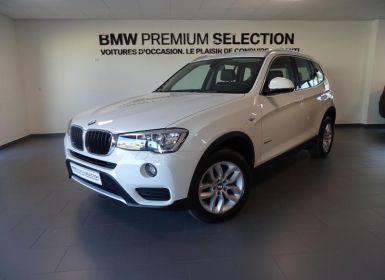 Vente BMW X3 sDrive18d 150ch Lounge Plus Start Edition Occasion