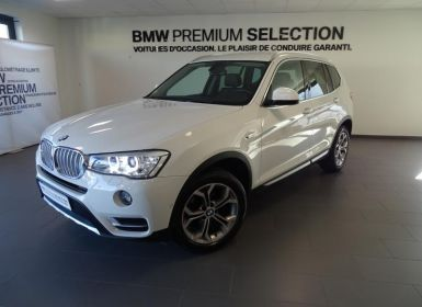 BMW X3 sDrive18d 150ch xLine Start Edition