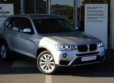 Vente BMW X3 sDrive18dA 150ch Business Occasion