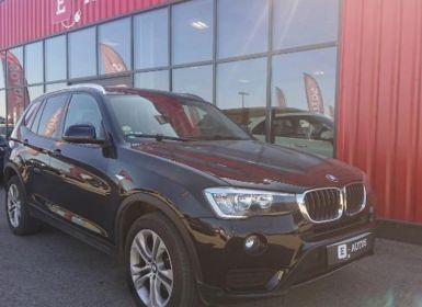 Vente BMW X3 sDrive18dA 150ch Executive Occasion