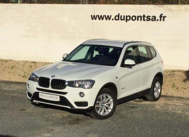 Acheter BMW X3 sDrive18dA 150ch Lounge Plus Occasion