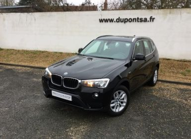 Vente BMW X3 sDrive18dA 150ch Lounge Plus Occasion