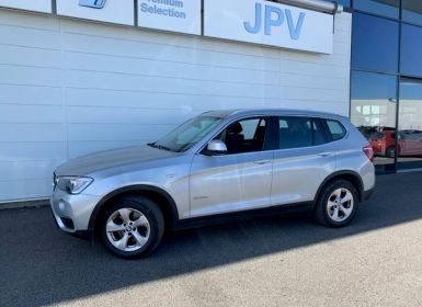 Achat BMW X3 sDrive18dA 150ch Lounge Plus Occasion