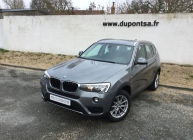 Voiture BMW X3 sDrive18dA 150ch Lounge Plus Occasion