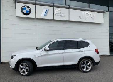 Voiture BMW X3 sDrive18dA 150ch Lounge Plus Occasion