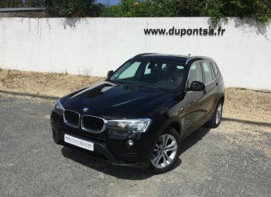 Vente BMW X3 sDrive18dA 150ch Lounge Plus Occasion