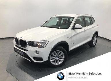Achat BMW X3 sDrive18dA 150ch Lounge Plus Occasion