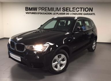 Achat BMW X3 sDrive18dA 150ch Lounge Plus Start Edition Occasion