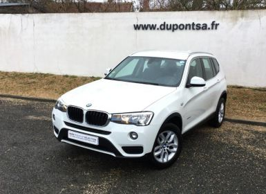 Voiture BMW X3 sDrive18dA 150ch Lounge Plus Start Edition Occasion
