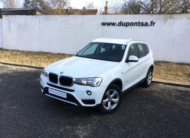 BMW X3 sDrive18dA 150ch Lounge Plus Start Edition Occasion