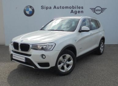 BMW X3 sDrive18dA 150ch Lounge Plus Start Edition Occasion