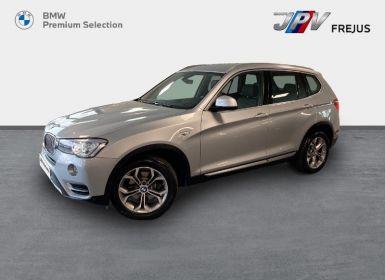 Vente BMW X3 sDrive18dA 150ch xLine Start Edition Occasion