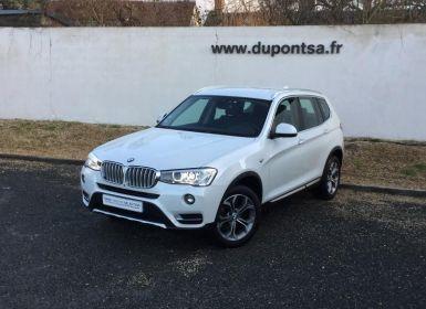 Acheter BMW X3 sDrive20iA 184ch xLine Occasion
