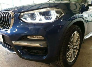 Vente BMW X3 xDrive 20d Luxury Line Occasion
