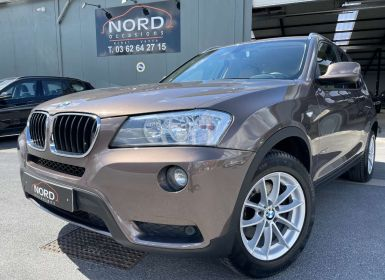 Achat BMW X3 xDrive20d 184ch Confort Steptronic A Occasion