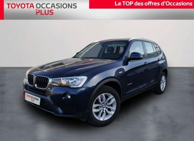 Acheter BMW X3 xDrive20d 190ch Executive Occasion