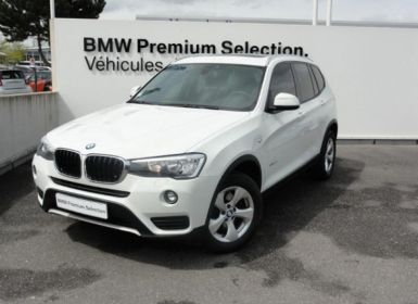 BMW X3 xDrive20d 190ch Lounge Occasion