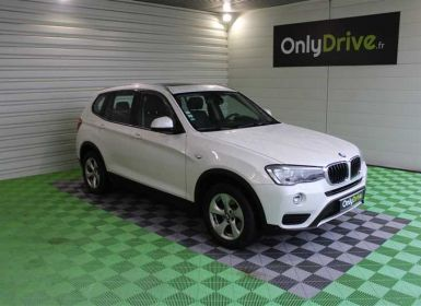 Achat BMW X3 xDrive20d 190ch Lounge A Occasion
