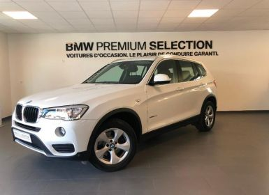 Voiture BMW X3 xDrive20d 190ch Lounge Plus Occasion