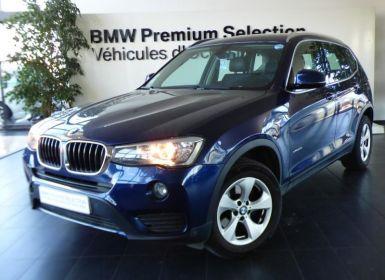 Vente BMW X3 xDrive20d 190ch Lounge Plus Occasion